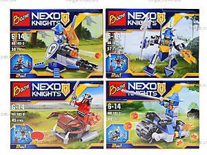 Конструктор NEXO knights «Рыцарь и его средство передвижения», 103-18, купить