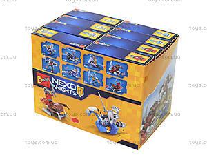 Конструктор NEXO knights «Рыцарь и его средство передвижения», 103-18, игрушки