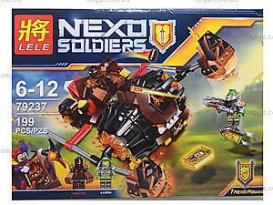 Конструктор Nexo Soldiers «Лавинный разрушитель», 199 деталей, 79237, отзывы