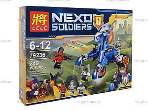 Конструктор Nexo Soldiers «Ланс и его конь», 249 деталей, 79236, фото