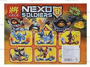 Конструктор Nexo Soldiers, 6 видов, 79243, фото
