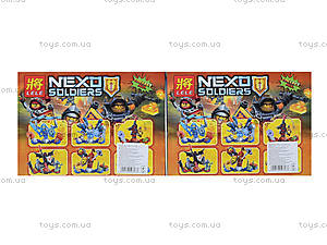 Конструктор Nexo Soldiers, 6 видов, 79243, цена