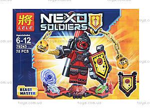 Конструктор Nexo Soldiers, 6 видов, 79243, игрушки