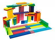 Конструктор nic деревянный «Строительные пластины» 64 элемента, NIC523302, купить