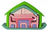 Конструктор nic деревянный «Все в доме» зеленый, NIC523265