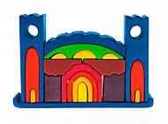 Конструктор nic деревянный «Все в замке» синий, NIC523268, фото