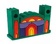 Конструктор nic деревянный «Все в замке» зеленый, NIC523269, купить