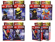 Ниндзя конструктор в коробке, 3D28901-28906H, фото