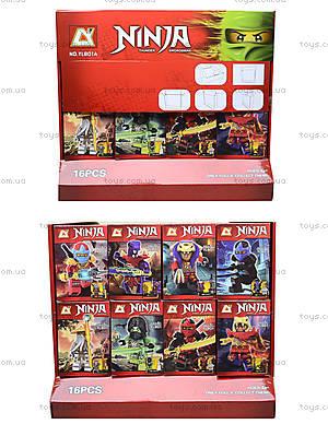 Конструктор с героями Ninja для детей, YL801A