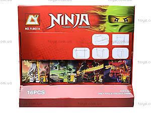 Конструктор с героями Ninja для детей, YL801A, отзывы