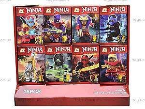 Конструктор с героями Ninja для детей, YL801A, игрушки
