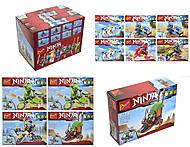 Конструктор «Летательные аппараты Ninja», 16 видов, 101(1-8), фото