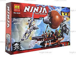 Конструктор Ninja «Пиратский Дирижабль», 294 деталей, 10448, фото