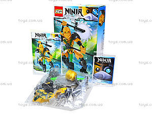 Конструктор «Воин Ninja», 4 вида, 501501503504, фото