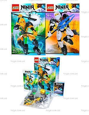 Конструктор «Воин Ninja», 4 вида, 501501503504