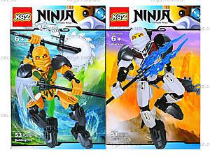 Конструктор «Воин Ninja», 4 вида, 501501503504, отзывы