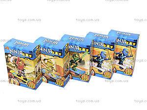 Детский конструктор с героями «Ниндзя», 2563A-2566A, купить