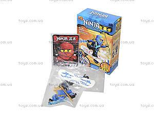 Детский конструктор с героями «Ниндзя», 2563A-2566A, фото