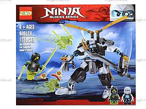 Конструктор Ninja «Супервоин», 60010A-60013A, отзывы