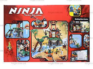 Конструктор Ninja «Тигровый остров», 449 деталей, 10461, купить