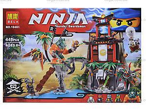 Конструктор Ninja «Тигровый остров», 449 деталей, 10461, отзывы