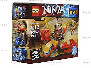 Конструктор Ninja «Погоня», 51 деталей, SX3002-1, купить