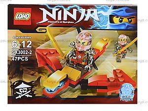 Конструктор Ninja «Погоня», 51 деталей, SX3002-1, цена