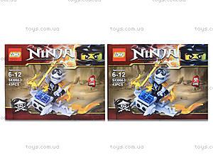 Конструктор Ninja «Гонщик», 55 деталей, SX3002-4, купить