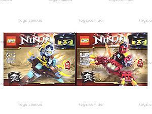 Конструктор Ninja «Гонщик», 55 деталей, SX3002-4, отзывы