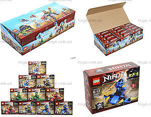 Конструктор Ninja «Гонщик», 55 деталей, SX3002-4