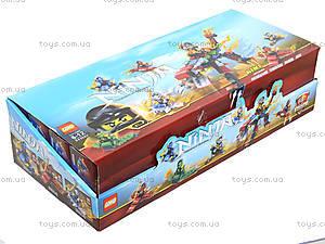 Конструктор Ninja «Гонщик», 55 деталей, SX3002-4, цена