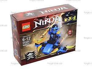 Конструктор Ninja «Гонщик», 55 деталей, SX3002-4, детские игрушки