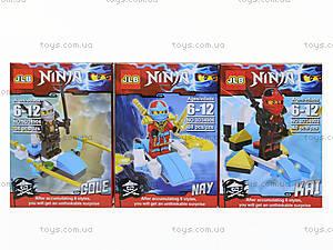 Конструктор для мальчиков «Ninja», 3D34901-34906H, отзывы
