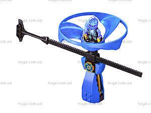Конструктор для детей «Ниндзя с запуском», 79059, фото