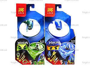 Конструктор для детей «Ниндзя с запуском», 79059, цена