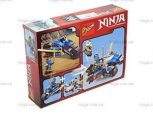 Детский конструктор «Воины ниндзя на машинах», 113-1-6, отзывы