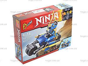 Детский конструктор «Воины ниндзя на машинах», 113-1-6, цена