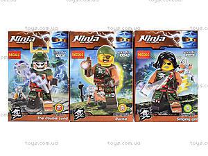 Конструктор с героями Ninja, 6 видов, 10035-10040, магазин игрушек