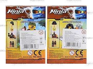 Конструктор с героями Ninja, 6 видов, 10035-10040, toys.com.ua
