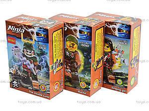 Конструктор с героями Ninja, 6 видов, 10035-10040, toys