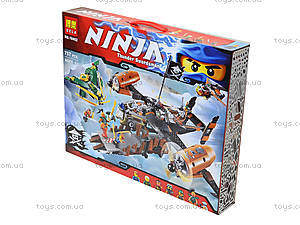 Конструктор Ninja «Цитадель», 757 деталей, 10462, фото