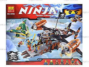 Конструктор Ninja «Цитадель», 757 деталей, 10462, отзывы