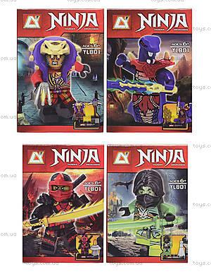 Конструктор Ninja, 8 видов, YL801
