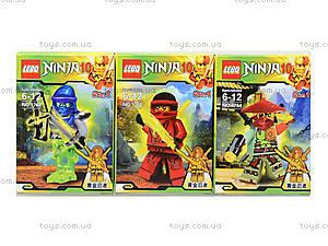 Детский конструктор «Герои серии Ninja», 1764, магазин игрушек