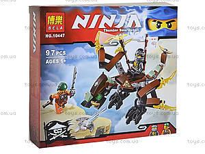 Конструктор Ninja «Дракон Коула», 97 деталей, 10447, фото