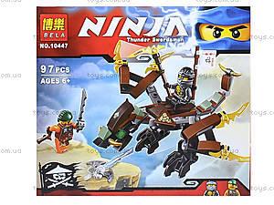 Конструктор Ninja «Дракон Коула», 97 деталей, 10447, отзывы