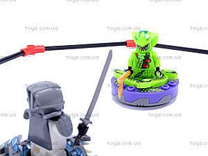 Конструктор «Ниндзя» для детей, 98017-98019