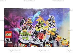 Конструктор Ninja «Новые герои», SX3000, toys