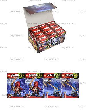 Конструктор для детей «Минифигурки Ninja», SX200