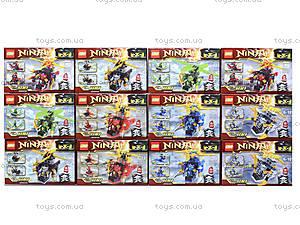Детский мини-конструктор Ninja, SX3003, цена